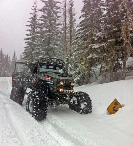-> http://rockwellrebuildmanual.com <-   rock buggy, or Truggy,  snow wheelin WARN Truggy