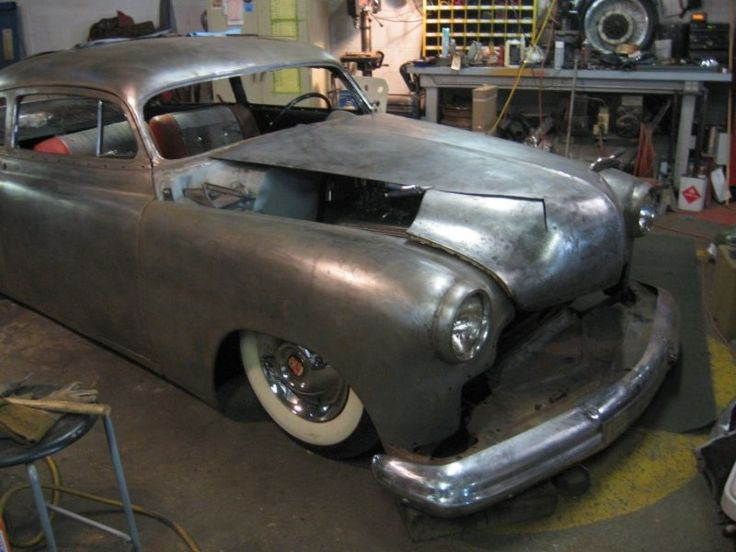 [​Chopped '51 Chevy Fleetline.]