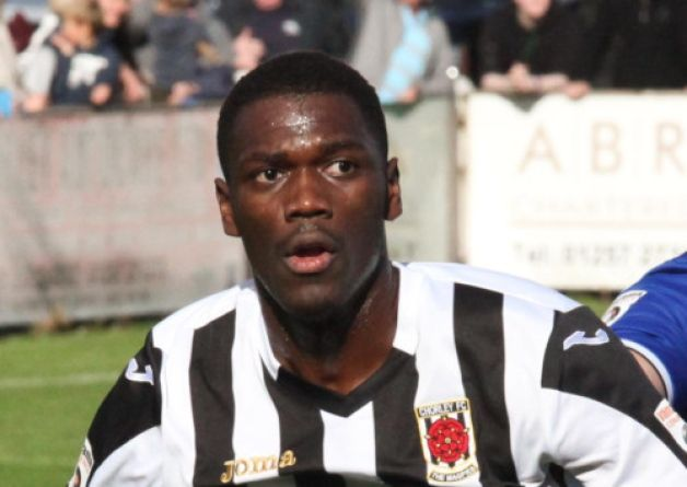 Darren Stephenson's approach play was slick for Chorley FC this weekend against Guiseley