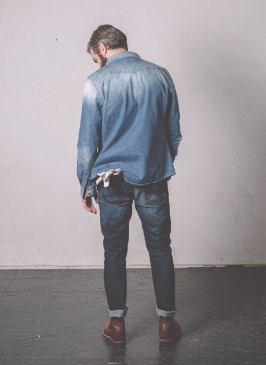 • BASED ON A TRUE STORY • THE SS14 COLLECTION Pant Cod. IBANEZ M0070.516.B2 / SKINNY FIT STRETCH http://www.uniformjeans.it/