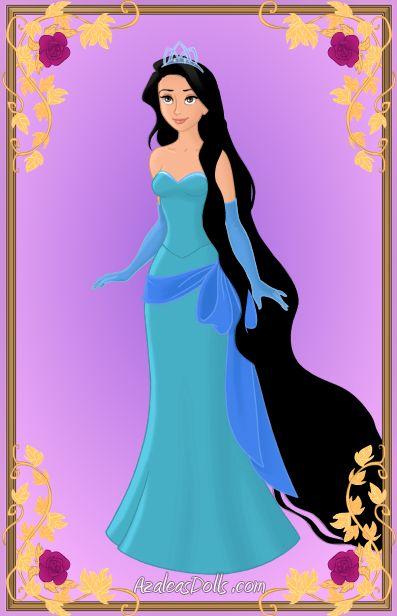 Tiana+Rapunzel=Tiapunzel