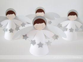 DULCESOBREMESA: BAUTIZO: ANGELES Y ESTRELLAS / BAPTISM: STARS AND ANGELS