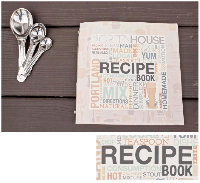 Recipe Book Cover Design : The gallery for gt recipe book cover design