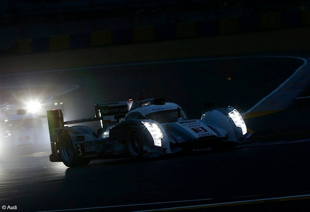 Le Mans: Audi on pole position with a 1-2-3 R18 e-tron quattro