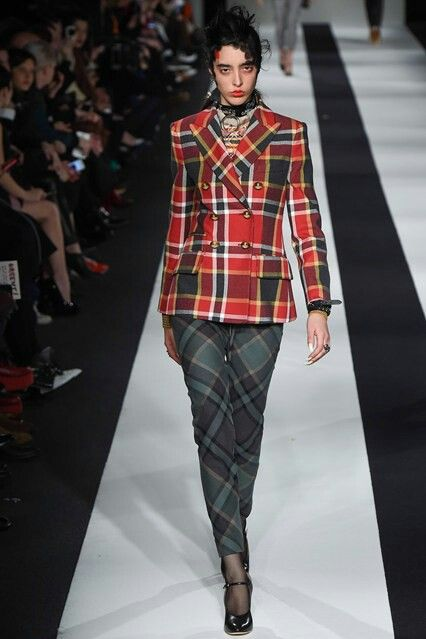 Vivienne Westwood Red Label catwalk
