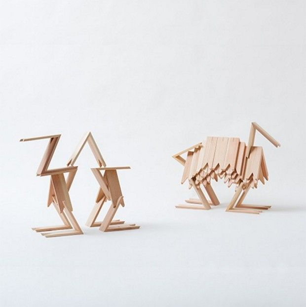 Tsumiki par Kengo Kuma - Journal du Design
