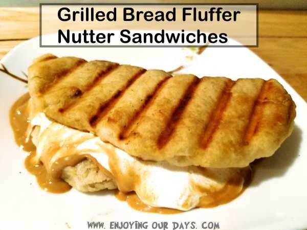 Grilled bread fluffer nutter sandwiches...because life is short, and even those of us who are aspiring to provide more of our own sustenance need comfort fo