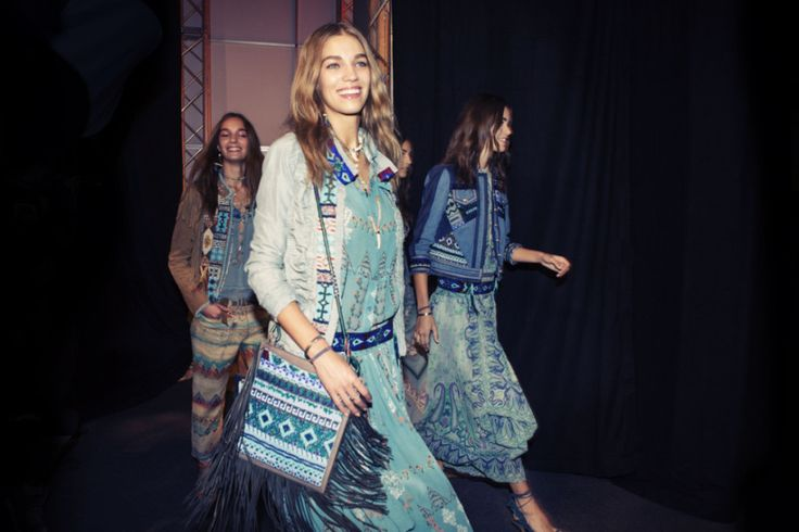 Etro Spring 2015 RTW – Backstage – Vogue