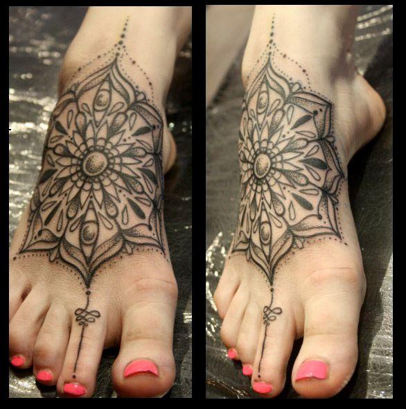 foot mandala tattoo - Recherche Google