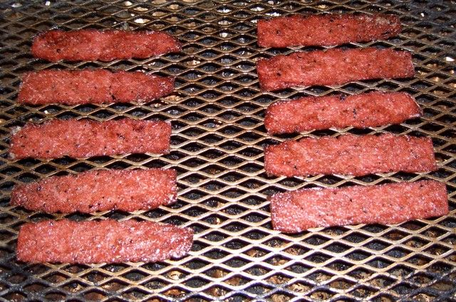 how to cook ground deer sausage