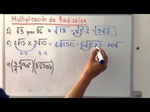 División de Radicales con el Mismo Indice   Clases de Matemáticas - YouTube