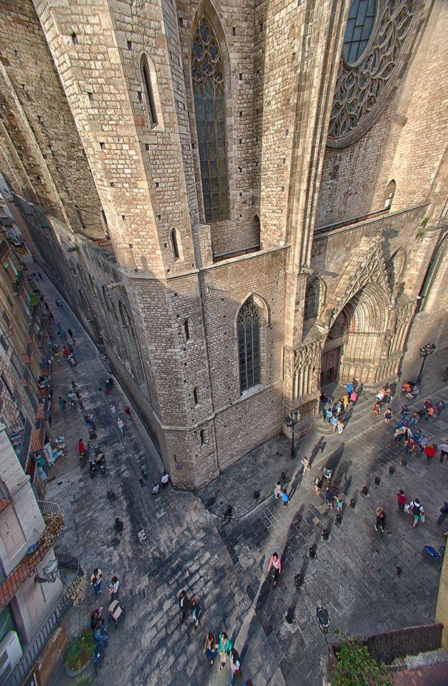 Basílica de Santa María del Mar, Barcelona, Cataluña