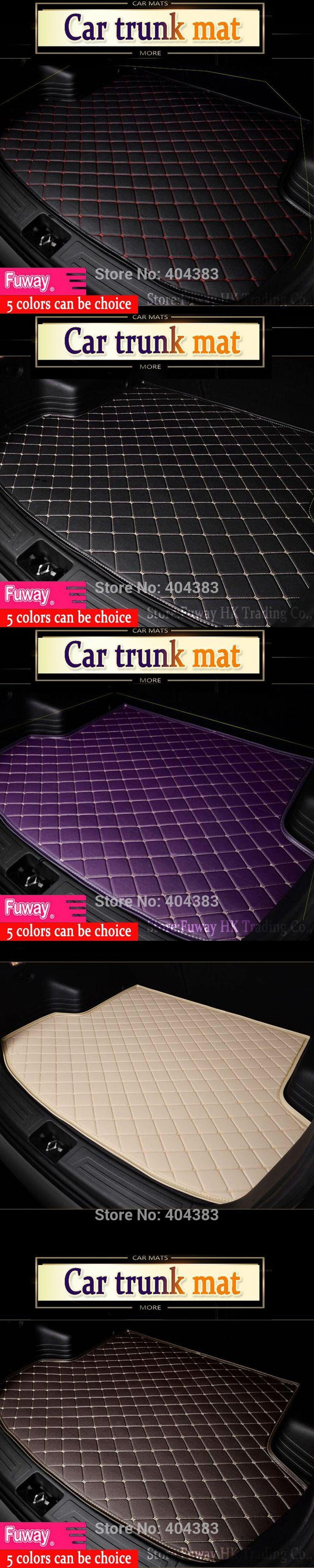 hot sale car trunk mat for Mercedes Benz B180 C200 E260 CL CLA G GLK300 ML S350/400 class car styling tray carpet cargo liner