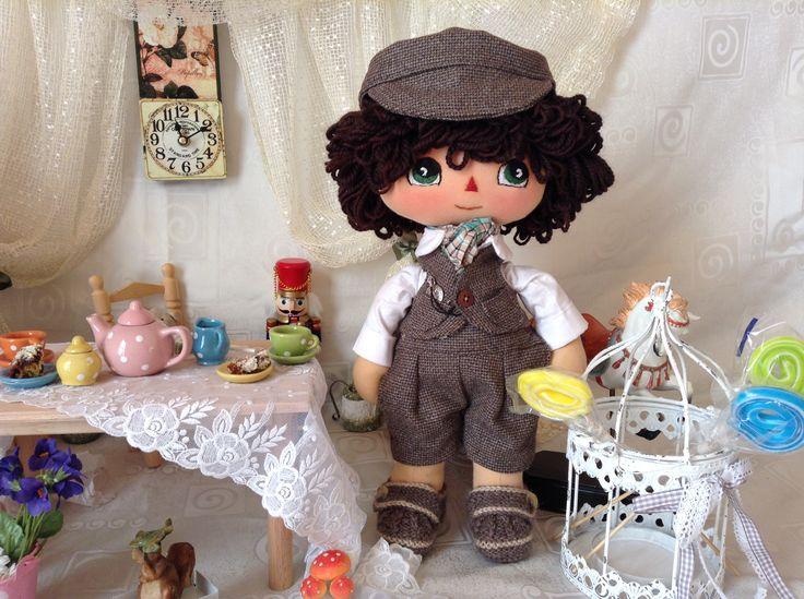 a boy handmade doll named Anthony