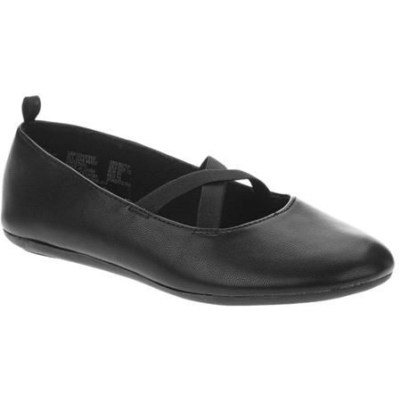 Faded Glory Girls CrissCross Ballet Flat