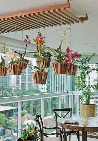 Você teria um #jardim suspenso na sua varanda? #decoracao #facavocemesmo