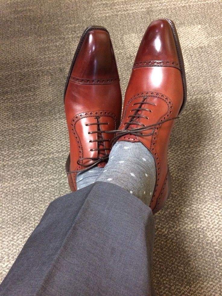 Gaziano & Girling St James Nick: St James II ( 1st Edition ) on the Deco Last in Vintage Cherry Calf.