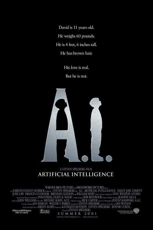 "FREE FULL MOVIE! ""A.I. ARTIFICIAL INTELLIGENCE"" 