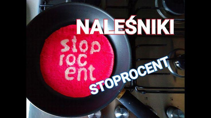 NALEŚNIKI STOPROCENT / PANCAKE ART / WINI / SOBOTA / MATHEO / STOPRO