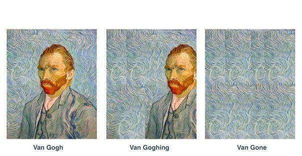 Van Gogh, Van Gohing, Van Gone! Hah!