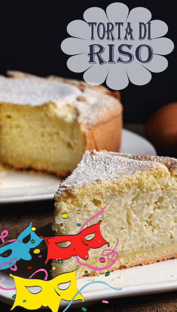 Una ricetta della tradizione, che in ogni regione d'Italia ha la sua variante: questa è la torta di riso che si prepara in alcune zone della Campania come dolce di Carnevale ed è a base pasta frolla, uova e ricotta.