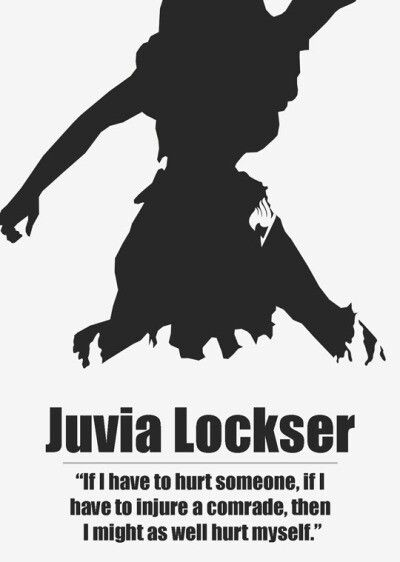 I love Juvia. She is such a strong woman. I like how she can be hopelessly in love and still strong and independent.