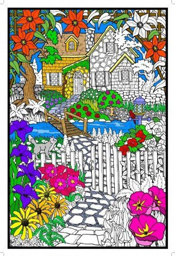 32 best Giant Coloring Posters images on Pinterest   Line art ...