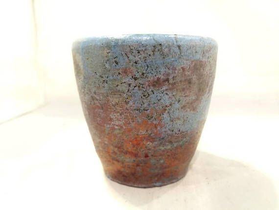 Check out this item in my Etsy shop https://www.etsy.com/listing/568543566/raku-pottery-cup
