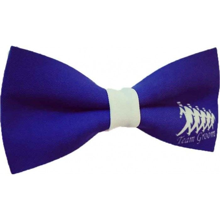 Papion cavaler de onoare Team Groom albastru