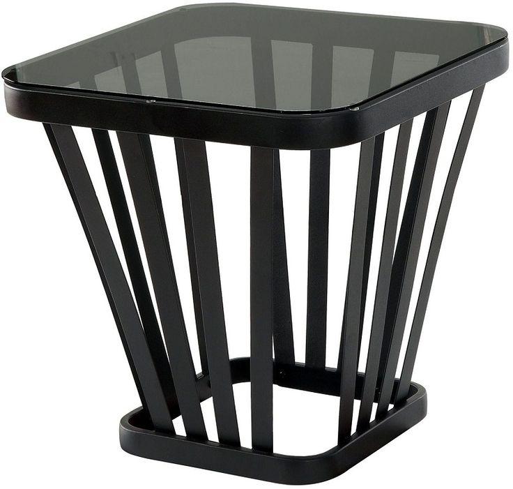 Winnie by Furniture of America End Table CM4109BK-E Black Finish