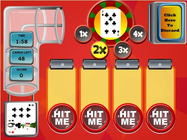 Bumperjack is an entertaining version of Blackjack with a twist.