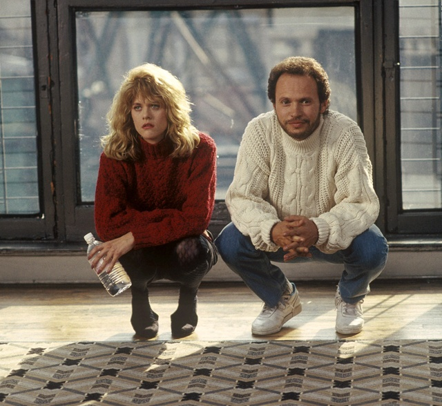 Meg Ryan and Billy Crystal from When Harry Met Sally...