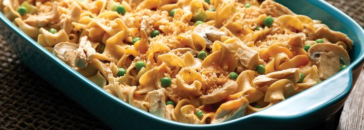 No Yolks® - Tuna Noodle Casserole - for an even healthier version use plain Greek yogurt in place of cream cheese