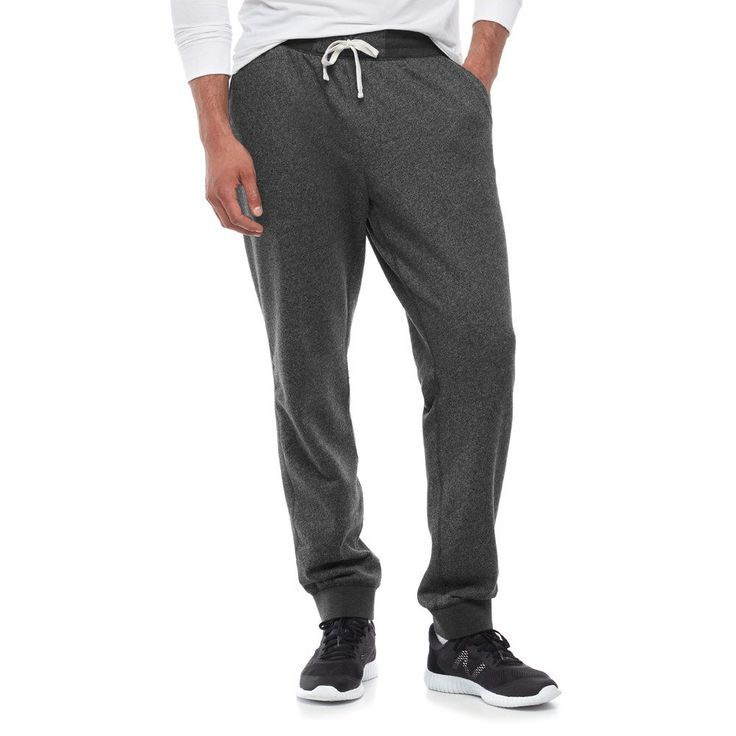 Big & Tall SONOMA Goods for Life™ Regular-Fit Supersoft Jogger Pants, Men's, Size: Xl Tall, Black