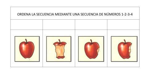 ORDENAMOS SECUENCIAS TEMPORALES fichas 1-10 -Orientacion Andujar