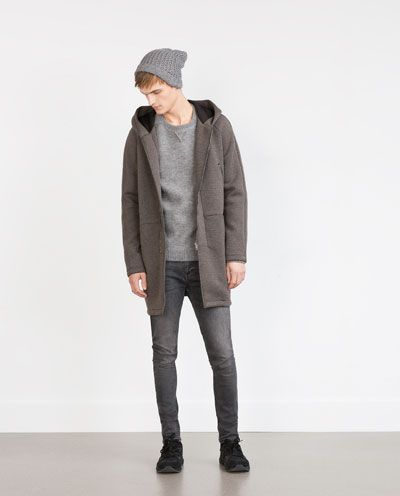 Image 1 of TECHNICAL COAT from Zara