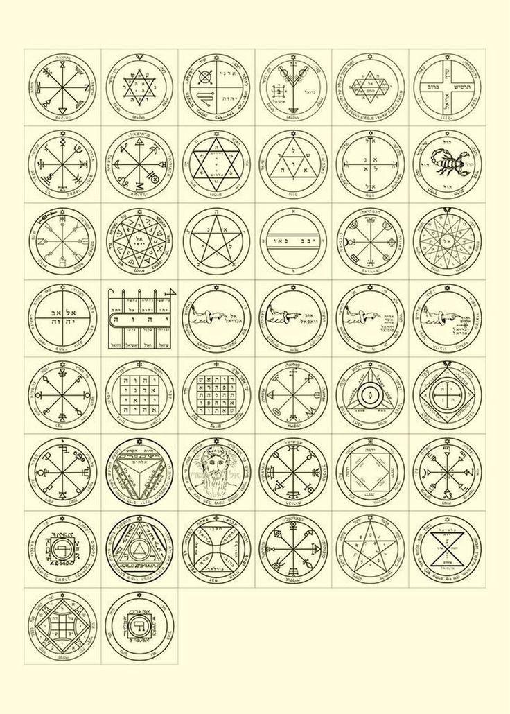 44 King Solomon Seals