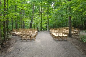 Kortright Centre Wedding Ceremony Site