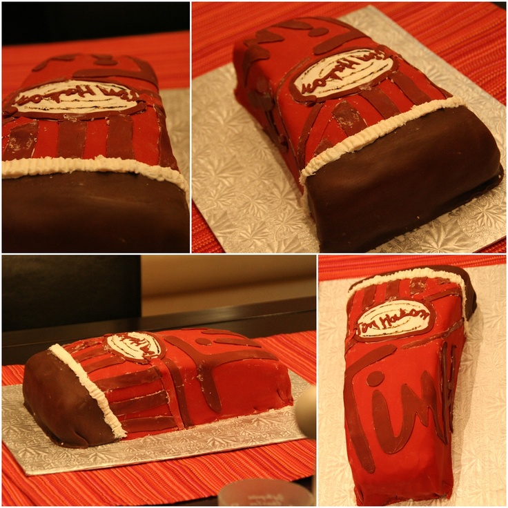 Tim Horton's Cake...You'd Have To Be Canadian!