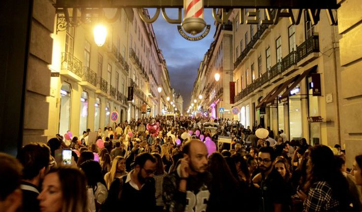 Lisboa recebeu a maior noite de compras pelo sétimo ano consecutivo