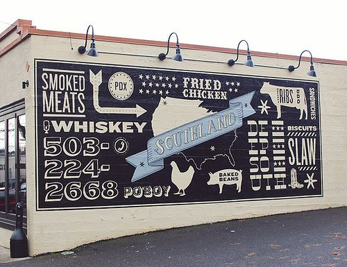 Southland / Portland, OR | Photo by Shauna Haider  I have drove by and seen this, love it!!