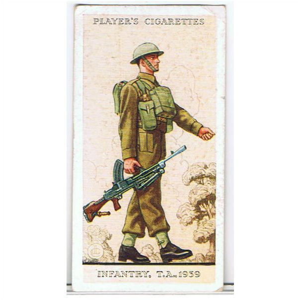 1939 Players Cigarette card 'Uniforms of the Territorial Army' no.50 Listing in the Players,Cigarette Cards,Trading Cards & CCGs,Collectables Category on eBid United Kingdom   145689676