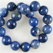Lapis Lazuli halvædelsten blå perler til smykkefremstilling af smykkesten