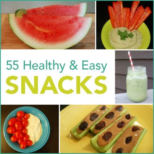 Hungry?? my team and I rounded up our favorite healthy snacks that are easy to throw together. Get ready to have your mind blown 55 delicious ways and say bye bye to that bag of chips you have hiding in the back of your cupboard!