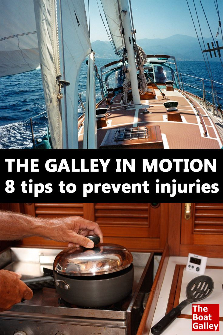 The galley in motion boating for Boat galley kitchen designs