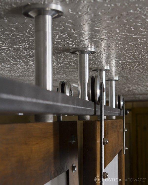 Floor To Ceiling Bypass Barn Doors