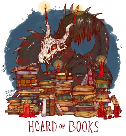 Image result for dragon hoard of books