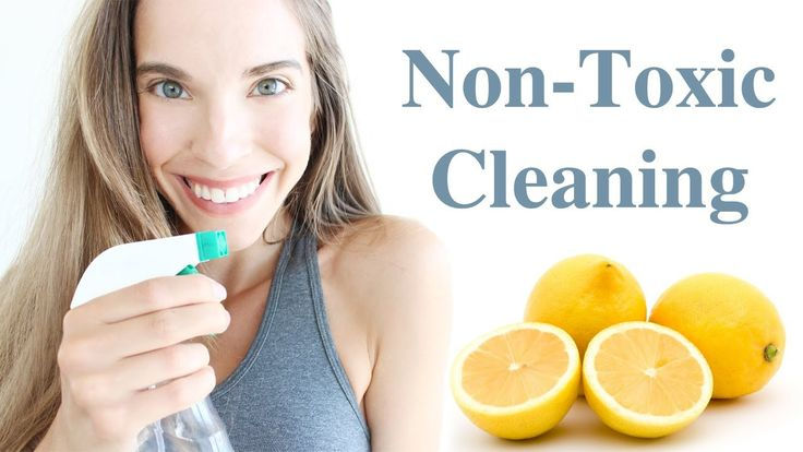 NON-TOXIC CLEANING GUIDE!