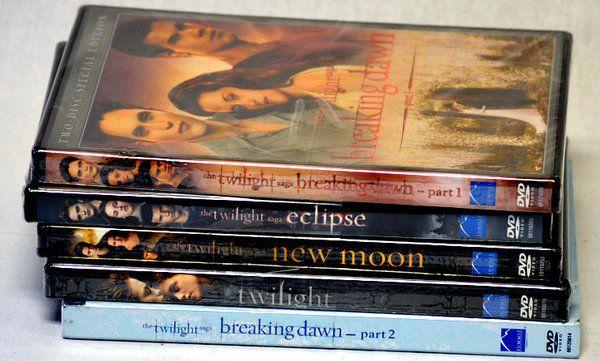 Complete Twilight Saga DVD Set