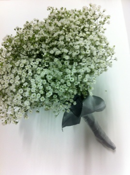 gypsophelia bQ... yes, it's baby's breath.   by kerry Quade.